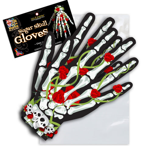 Sugar Skull Gloves