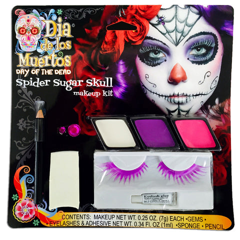 Spider Sugar Skull Makeup Kit