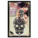 Lace Skull Body Art