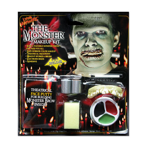 The Monster Halloween Makeup Kit – SilverRainStudio.com