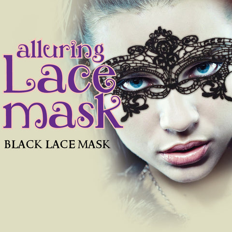 Alluring Black Lace Mask