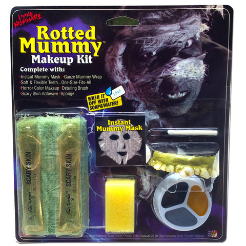 Rotted Mummy Halloween Makeup Kit – SilverRainStudio.com