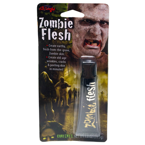 Zombie Flesh Halloween Makeup