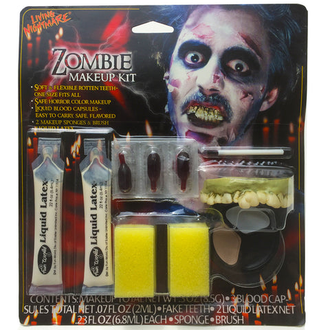 Zombie Halloween Makeup Kit