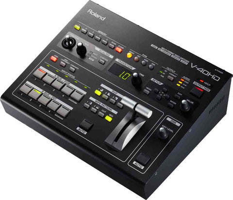 Roland V-40HD Multi-Format HD Video Switcher (B-STOCK)
