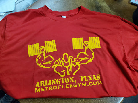 Metroflex Gym T shirt