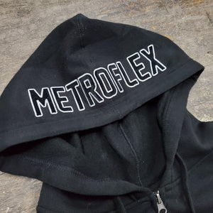 The Metroflex Gym Midweight Classic Zip Up Hoodie | Metroflex Gym