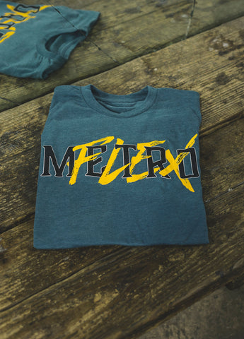 MFLEX Yellow Metroflex Gym T-shirt | Metroflex Gym