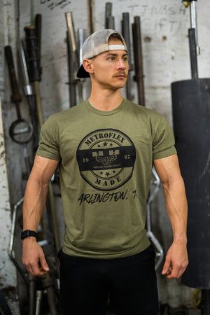 """Metroflex Made"" T-Shirt 