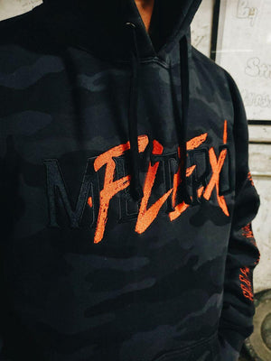 Metroflex Gear Elite Series - Metroflex Gear Elite Camo Hoodie | Black Camo | Metroflex Gym