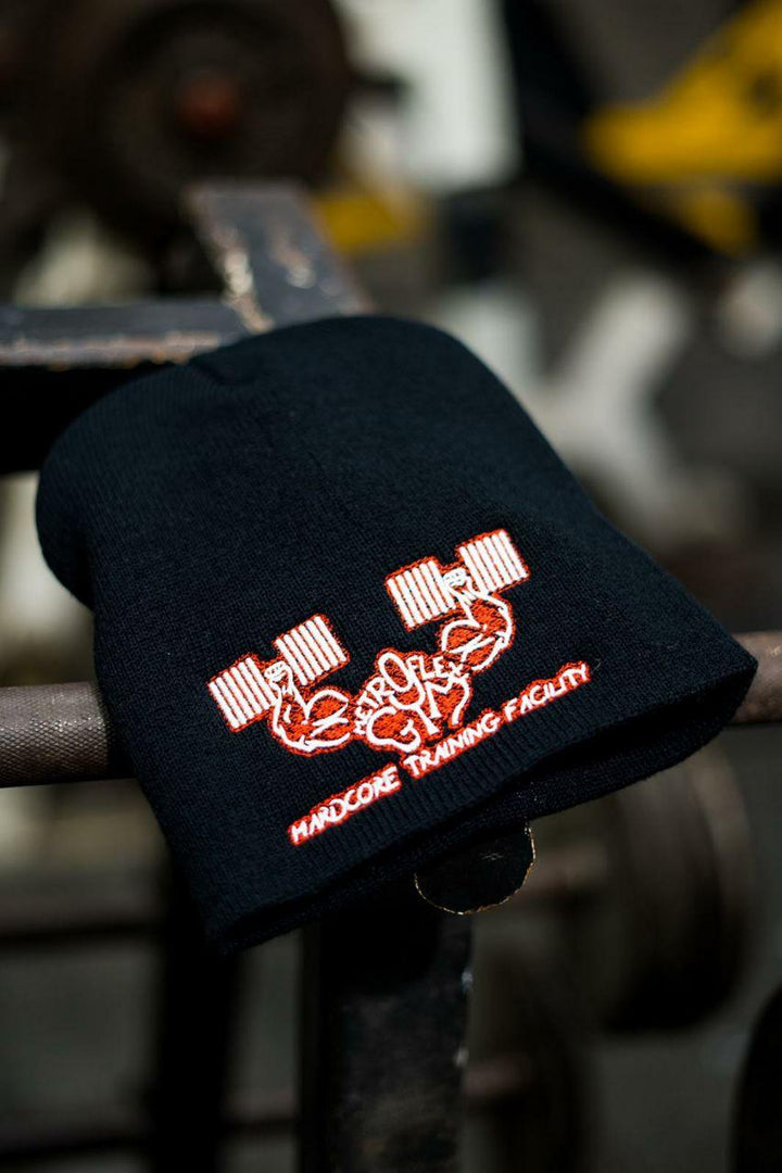 Metroflex Gym Hardcore Training Facility Beanie | Red | Metroflex Gym