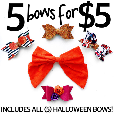 Halloween Bows