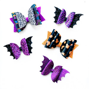 "Character Halloween Glam Bow (4.5"")"