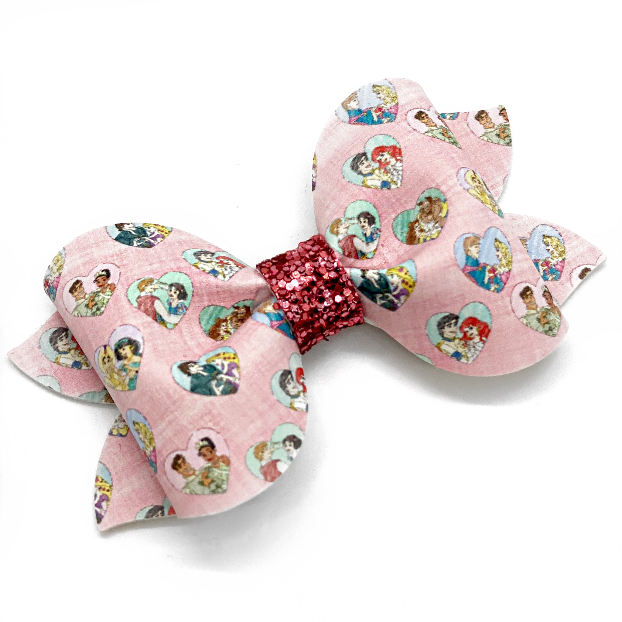 "Preslee Pinch Princess  Bow (3.5"")"