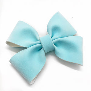 "NEW Blue Oaklee Bow (4"")"