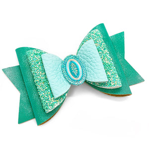 "Princess Jasmine Glam Bow (4.5"")"