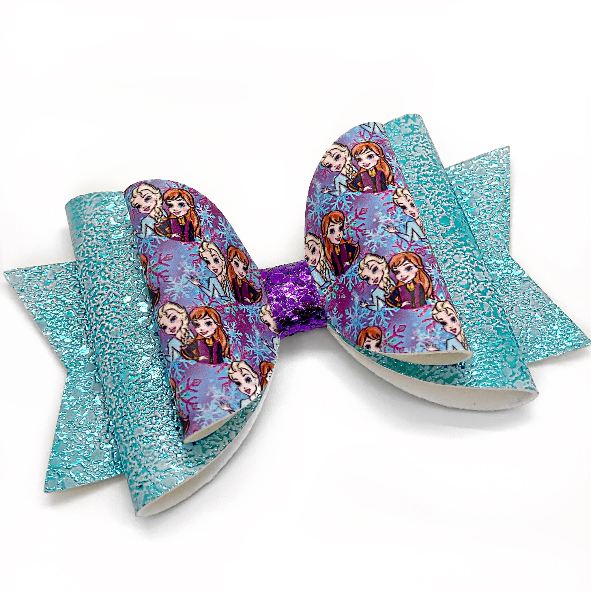 "Frozen Glam Bow (4.5"")"