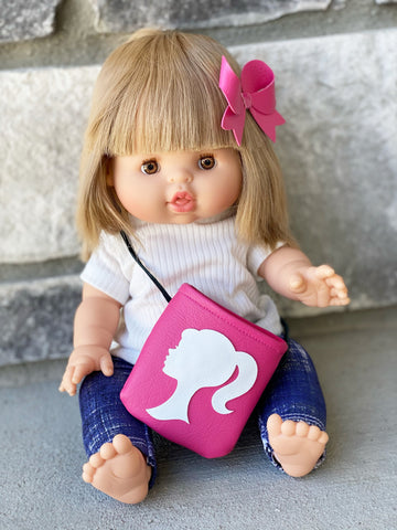 Barbie Girl DOLLY Tote & Bow