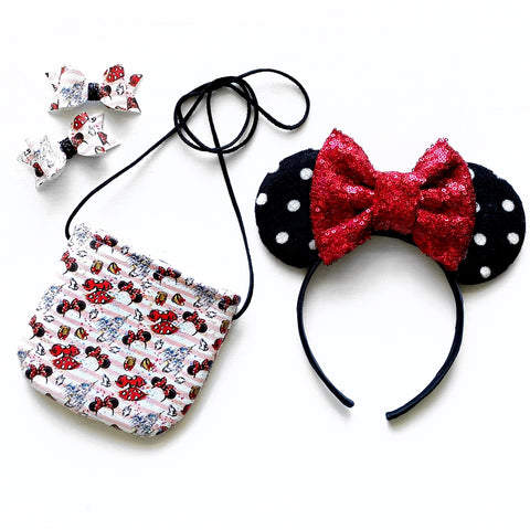 Fancy Mouse Totes & Snaps