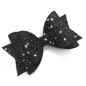 "2021 Black Glam Bow (4.5"")"