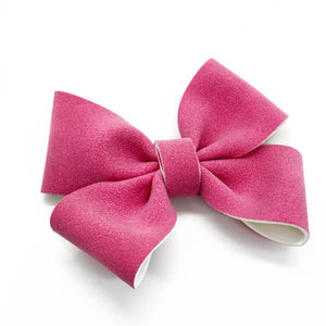 "NEW Magenta Oaklee Bow (4"")"
