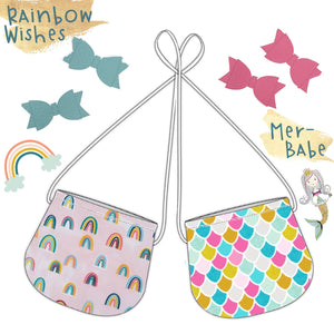 Mermaids & Rainbow Tote & Snaps! (Ship By: March 20)