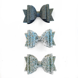 "Fancy Metallic Glam Bow (4.5"")"