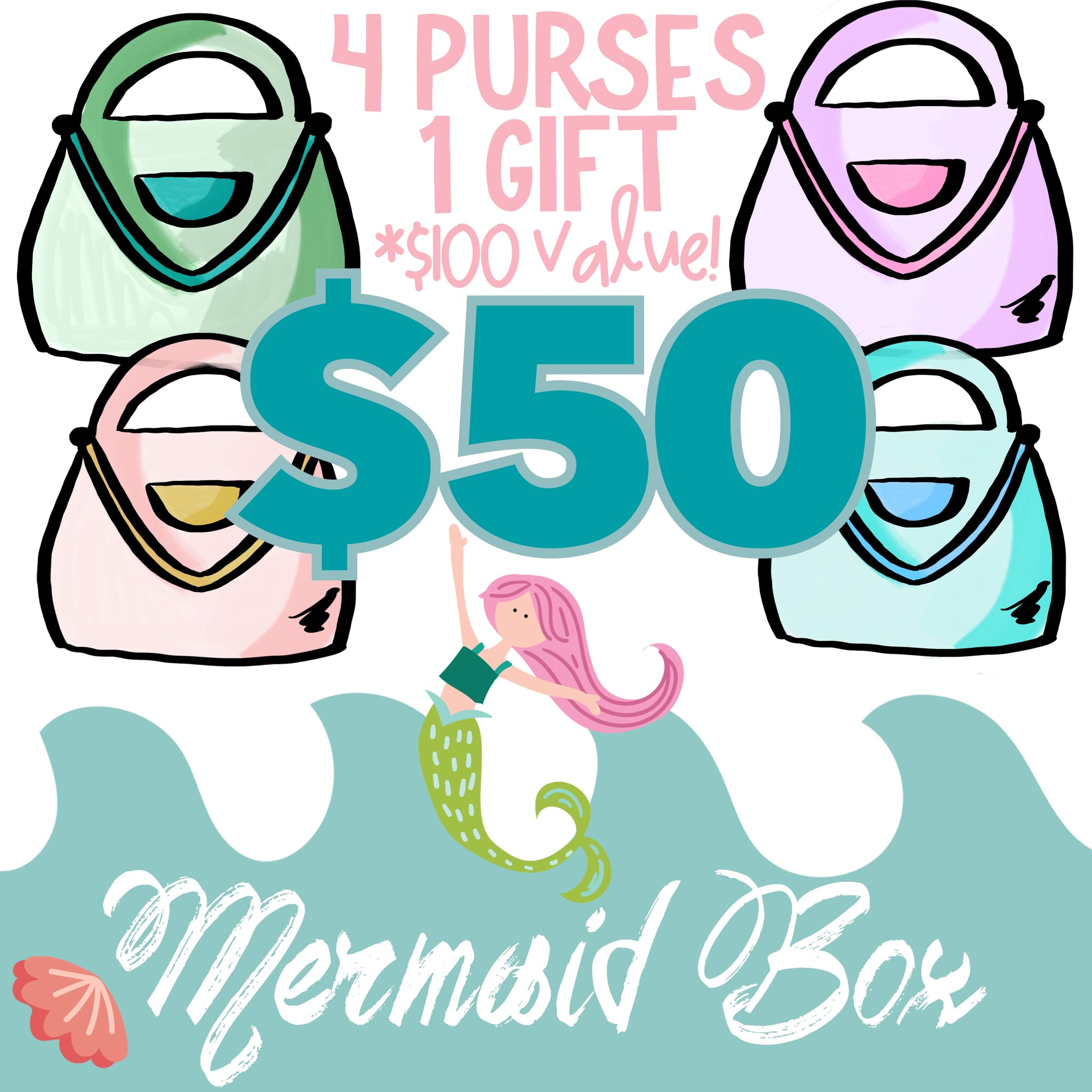 Mermaid Mystery Box