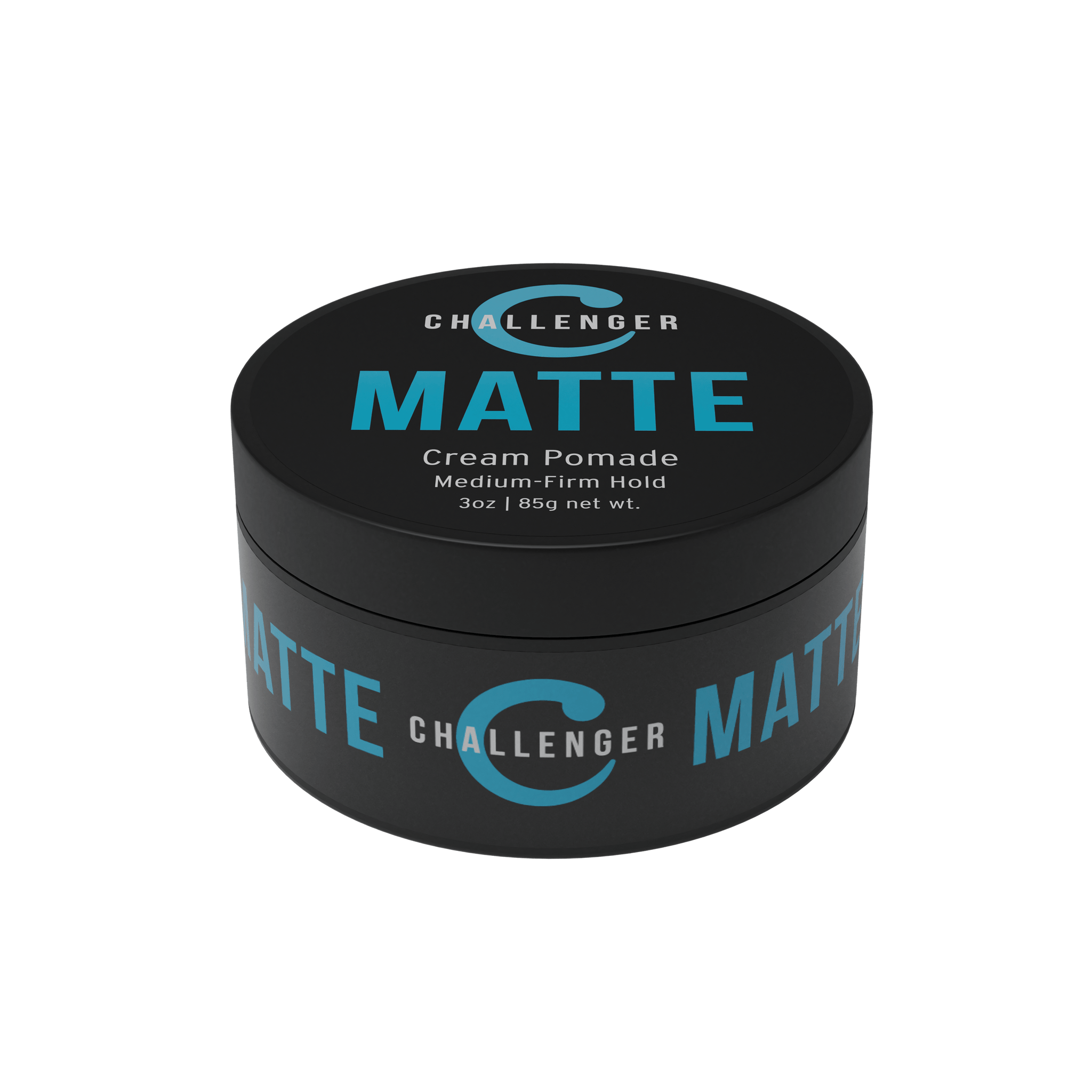 Challenger Men's Matte Cream Pomade, 3 Ounce - CHALLENGER MEN'S CARE