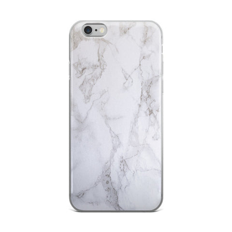 White Marble iPhone Case 2