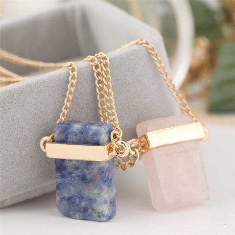 Natural Stone Vintage Necklace