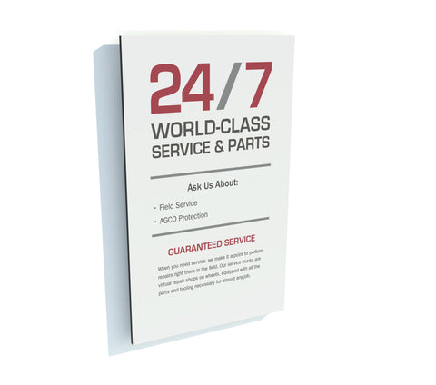 24/7 World-Class Panel - Red