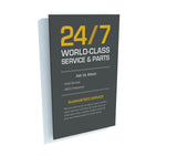 24/7 World-Class Panel - Yellow