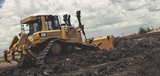 D6T Dozer - Wall Covering