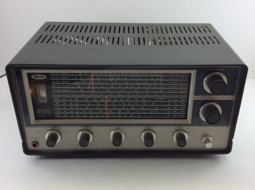 ALLIED A-2515 Vintage SHORTWAVE HAM AMATEUR HF RADIO RECEIVER 0.15-30 MHz SWL
