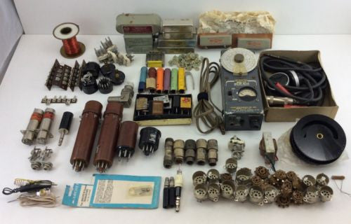 HAM RADIO Estate RF PARTS LOT Grid Dip Meter COLLINS MECHANICAL FILTERS ++ 9 Lbs