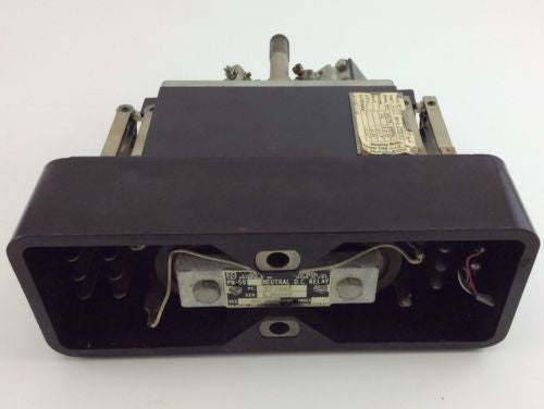 UNION SWITCH & SIGNAL Vintage Railroad PN-59 NEUTRAL DC RELAY 40 Ohms 32 Volts