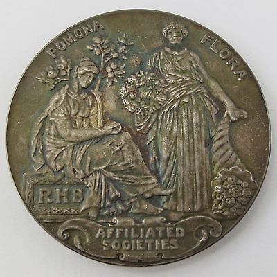 RHS 1951 Royal Horticultural Society BEST EXHIBIT SILVER PRIZE MEDAL Token Coin