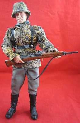 1/6 LIFE CAMOUFLAGE German ACTION FIGURE WORLD WAR II German BAGGAGE BATTLES