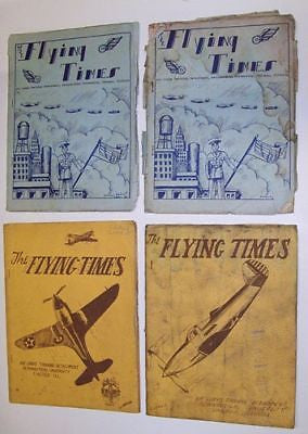 "WW II Aeronautical University Chicago ""FLYING TIMES"""