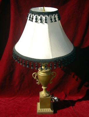 Greek Neoclassical Table LAMP Mid-Century