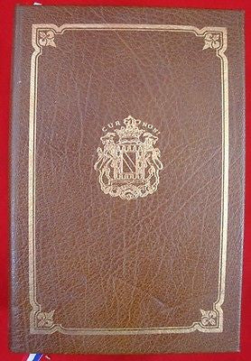 Vintage LAFAYETTE IN AMERICA BOOK FIRST EDITION Signed Louis Gottschalk Silk