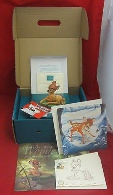 WDCC Disney Classics Collectors Society BAMBI THE YOUNG PRINCE Membership Kit
