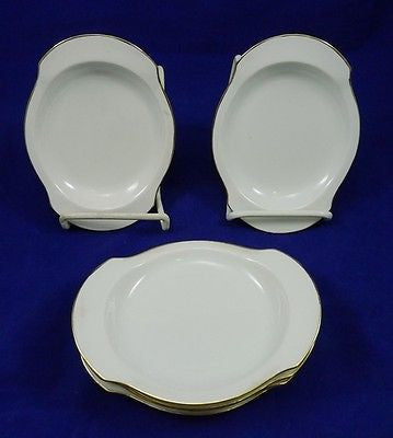 Antique RS GERMANY PRUSSIA Relish Dish Gold Trim BLUE MARK China PORCELAIN Lot#1