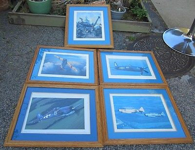 Vintage PICTURES US AIRCRAFT NAVY ARMY WORLD WAR II KOREA F6F Hellcat AT-6 Texan