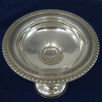 NEWPORT STERLING #15336 Vintage GORHAM SILVER Footed BON BON / CANDY DISH Bowl