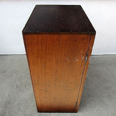 Tobacciana Antique/Vintage Mercantile Display/Storage Cabinet Sin Papel Segars
