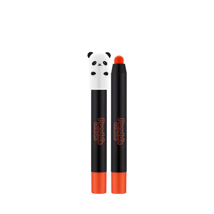Tonymoly - Panda's Dream Glossy Lip Crayon #1 hey orange