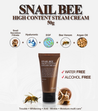 Load image into Gallery viewer, Benton - Snail Bee High Contents Steam Cream