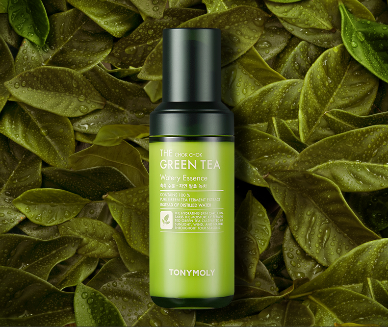 TONYMOLY - The Chok Chok Green Tea Watery Essence 55ml